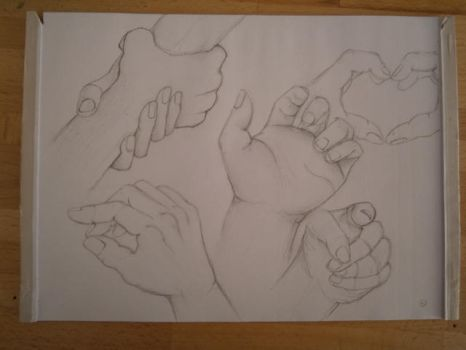 Hand scetches by RoTheHa