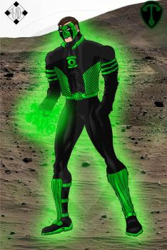 Green Lantern - Powering up 1 by Stelios-Tomazos