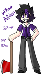 William Afton (Updated reference sheet) by Toast-Freak