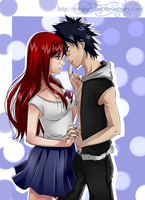 Erza X Gray by MyangHime
