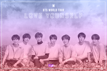 BTS Love Yourself Word TOUR by Purplairy