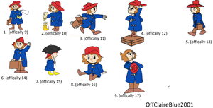 Humanised Paddington Bear 2 by OffClaireBlue2001