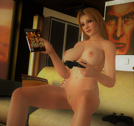 TINA: 'Hey, hon! You up for some videogames?' by DarkOverlord1296