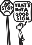 Not a Good Sign (Vector) by Arkholt