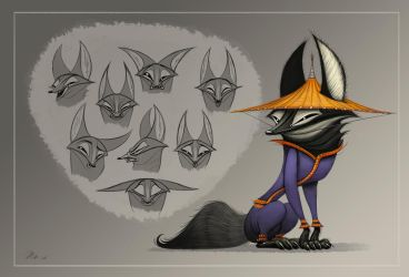 145. Master Fox concept by nik159