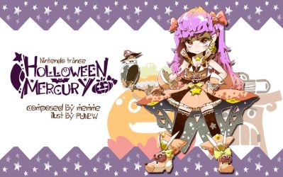 Halloween Mercury - O2JAM Eyecatch by DJPUNEW