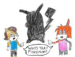 Sally and Bunnie - Who's That Pokemon? by dth1971