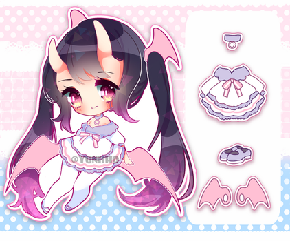 Adoptable Auction #1 [CLOSED] by Yuniiho