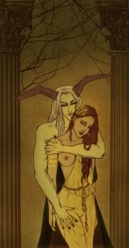 The Abduction of Persephone by fee-absinthe