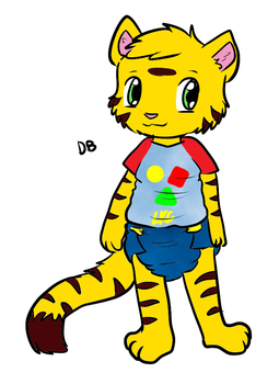 Little D.B. [Request from toddlergirl] by darksouldb