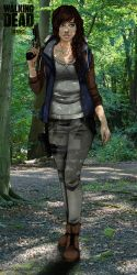 .:The Walking Dead oc Melissa McBrand:. by Alex-Hime
