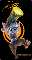 [Fan Art] Tristana! by Keekoi