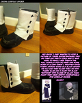 Cosplay: Crona Boots by Nuclearpsychotic