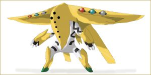 Pokemon fifthgen regigigas fly