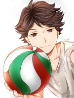 Oikawa Tooru by KarinaLoveDubai