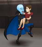 Megamind, Why Are We Running? by kelly42fox