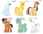 Breedable Ponies by DevilsRealm
