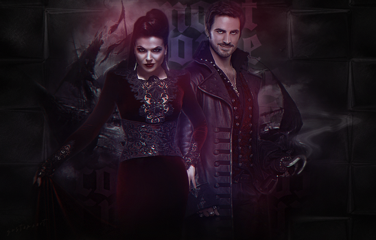 OUAT Regina Mills | Killian Jones by GalleryGestapo