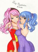 Juvia and Meredy by Lucy-Constellation