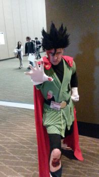 Saiyaman cosplay (battle damage) by SSJ-4-Gohan