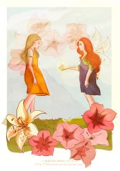 Because she is my sister by LilyRedHaired