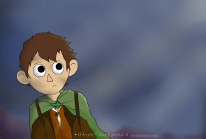Wirt as Frodo Baggins~ by IHopeYourLove18