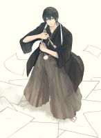 Haru in Hakama by sawa-rint