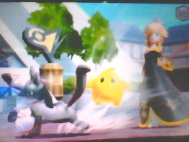 Smash Bros Screenshot... Hypon? by LucarioShirona