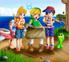 Treasure Hunting by Lady-of-Link