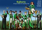 Slytherin Asoiaf Quidditch 2 by guad