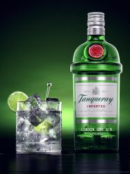 Liquor Rainbow Series: Tanqueray by drewbrand