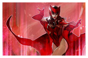 the scarlet witch by Peter-v-Nguyen