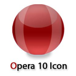 Opera 10 Icon by skater-andy