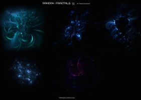 Random fractals 51 by Starscoldnight by StarsColdNight