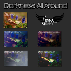 Darkness All Around by sweetexception
