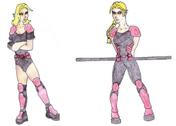 DC Comic Project: Character Profile-Mel by Foxy-Knight