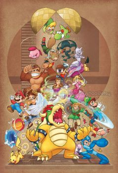 Party Brawl by alisalley
