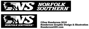 Norfolk Southern logo redesign by yankeedog