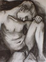 male seated by pexa