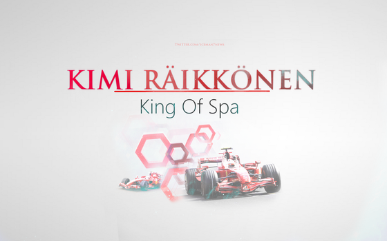 Kimi Raikkonen - King Of Spa by KRaikkonen7