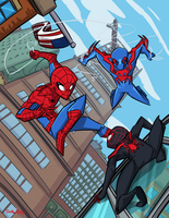 Spider-Men by Jonny-Aleksey