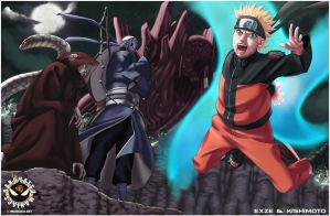 Naruto 520 Cover page by eXze