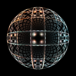 3D square sphere by ashmaster100