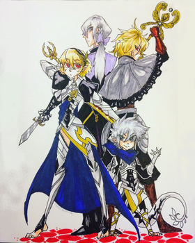 Fire Emblem Fates Family by HezuNeutral