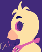 FNaF - Chica [Color Palette Challenge] by teddierandy