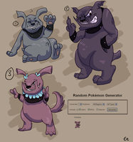 Pokemon Design Challenge: Granbull
