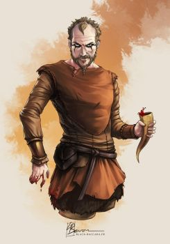 [Fanart] Floki - Vikings by LauraBevon