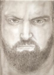 Damien Sandow by VivifiePgh