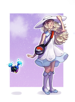 Lillie and Cosmog