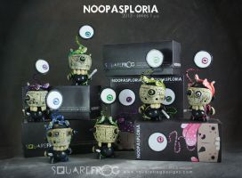Noopasploria 7 - 12 with boxes by SquareFrogDesigns